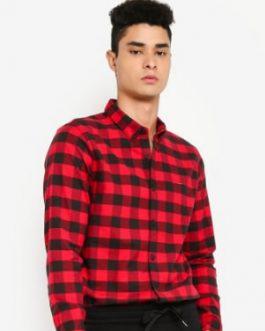 Oxford Pattern Shirt