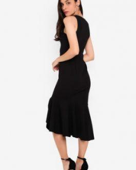 Hem Midi Dress