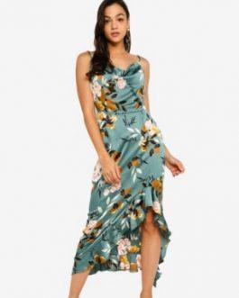 Side Midi Dress