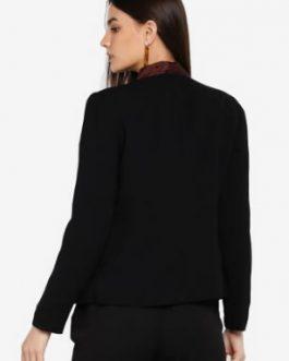 Sleeve Short Blazer